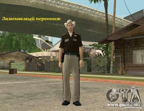 Distrito para GTA San Andreas quinta pantalla