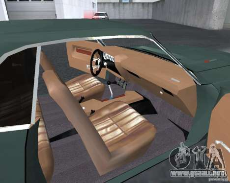 Dodge Challenger V1.0 para GTA San Andreas left