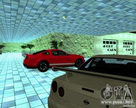 HD Motor Show para GTA San Andreas octavo de pantalla