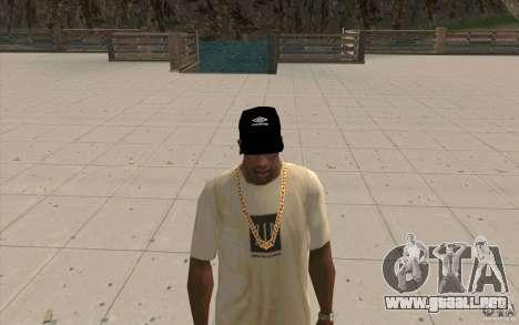 Negro tapa umbro para GTA San Andreas segunda pantalla