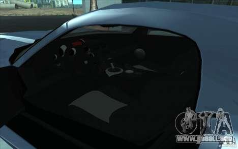 Dodge Viper SRT10 ACR para la visión correcta GTA San Andreas