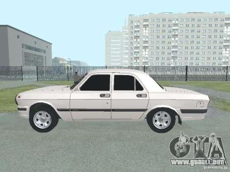 Volga GAZ-24 105 para GTA San Andreas left