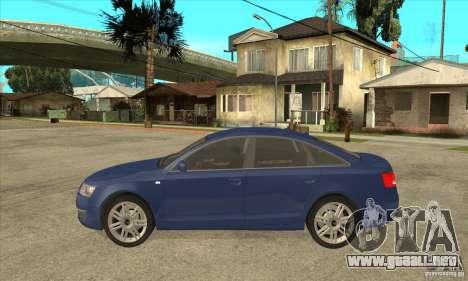Audi S6 Limousine V1.1 para GTA San Andreas left