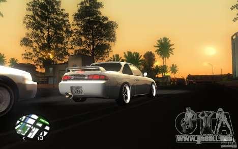 Nissan Silvia S14 para GTA San Andreas vista hacia atrás