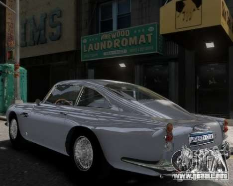 Aston Martin DB5 Vantage BETA para GTA 4 left