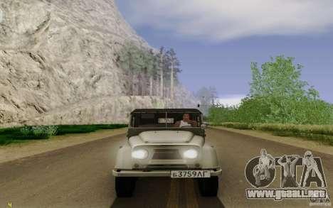 UAZ 460B para la visión correcta GTA San Andreas