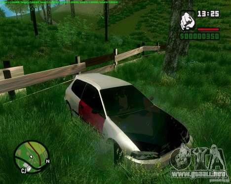 Honda Civic Hellaflush para la visión correcta GTA San Andreas