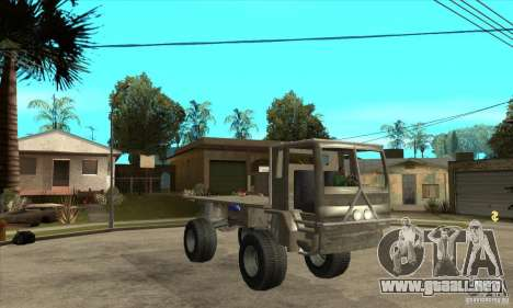 Fast Five Sand King para GTA San Andreas vista hacia atrás