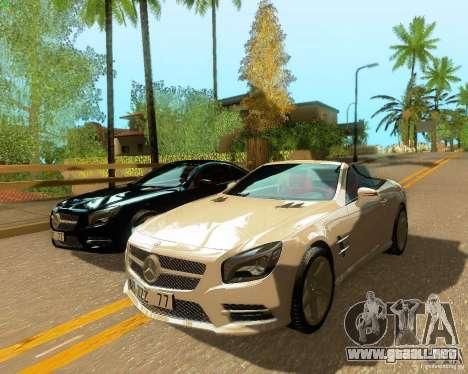 Mercedes-Benz SL350 2013 para GTA San Andreas