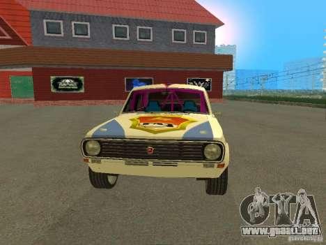 Volga GAZ 24-10 Rally para la visión correcta GTA San Andreas