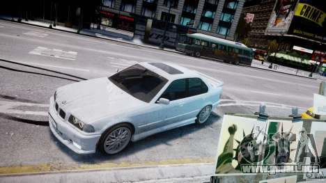 BMW 318i Light Tuning v1.1 para GTA 4 vista superior