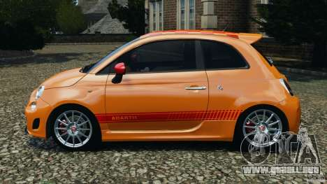 Fiat 500 Abarth para GTA 4 left
