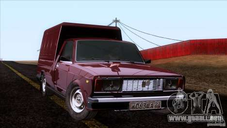IZH 27175 para visión interna GTA San Andreas