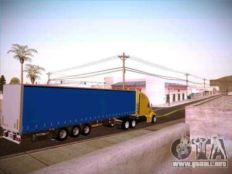 Freightliner Century Classic para la visión correcta GTA San Andreas