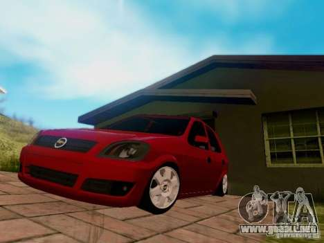 Chevrolet Celta 1.0 VHC para la visión correcta GTA San Andreas