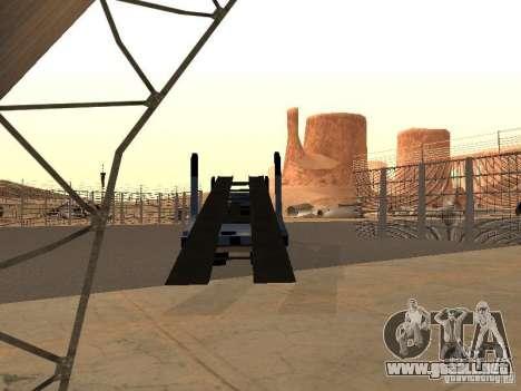 Camión KAMAZ para GTA San Andreas left
