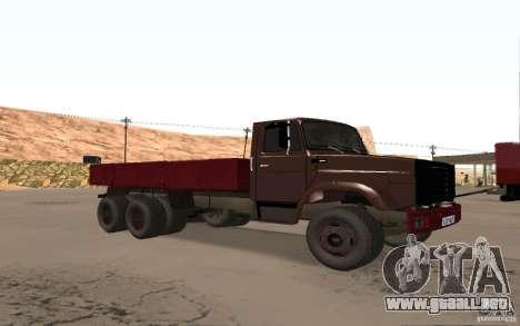 ZIL 6309 para GTA San Andreas left