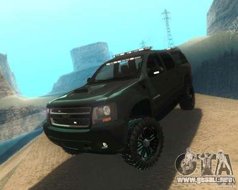 Chevrolet Suburban Crankcase Transformers 3 para GTA San Andreas