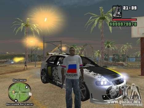 Fútbol Rusia para GTA San Andreas segunda pantalla