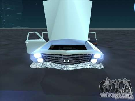 Cadillac Stella para GTA San Andreas vista posterior izquierda