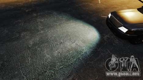 Faros de xenón para GTA 4