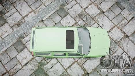 Volvo 850 Turbo 1996 para GTA 4 vista desde abajo