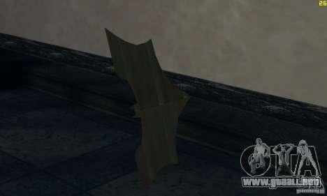 Betarang para GTA San Andreas segunda pantalla