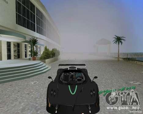 Pagani Zonda R para GTA Vice City vista lateral izquierdo