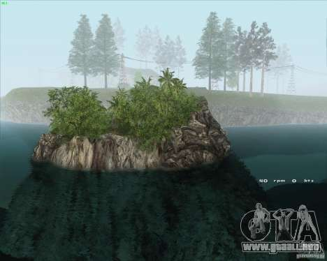Project Oblivion 2010HQ para GTA San Andreas segunda pantalla