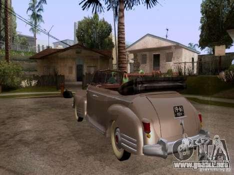 ZiS-110b Phaeton para GTA San Andreas left