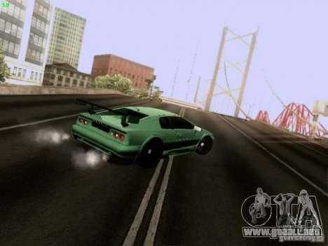 Lotus Esprit V8 para visión interna GTA San Andreas