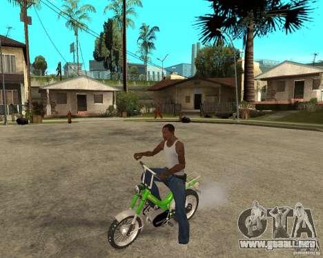 Mustang Mamba para GTA San Andreas