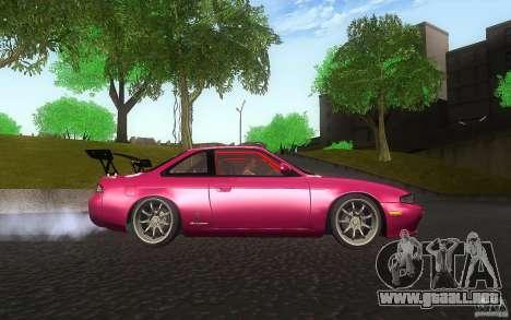 Nissan Silvia S14 Zenkitron para visión interna GTA San Andreas