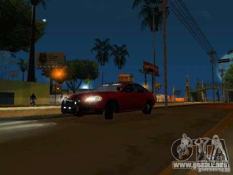 Chevrolet Impala Unmarked para GTA San Andreas left