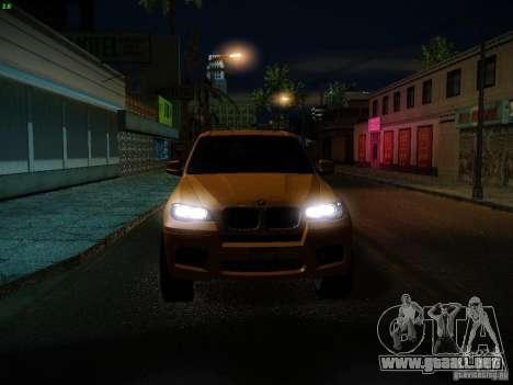 BMW X5M 2011 para GTA San Andreas interior