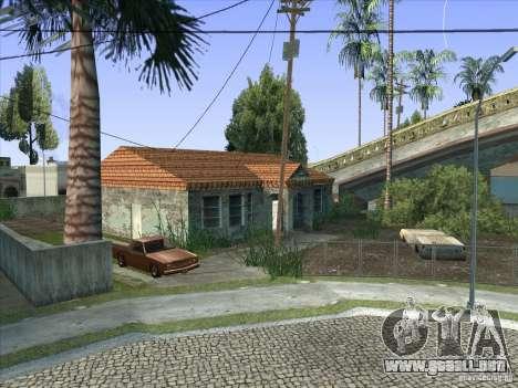 Grove Street Retextured para GTA San Andreas novena de pantalla