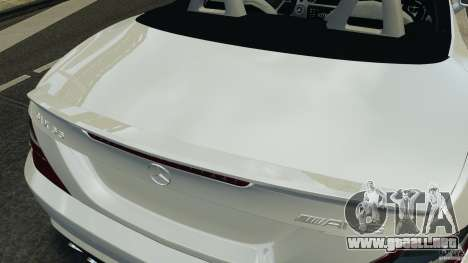 Mercedes-Benz SLK 2012 v1.0 [RIV] para GTA 4 interior