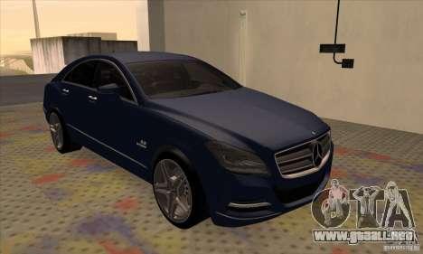 Mercedes-Benz CLS63 AMG 2012 para GTA San Andreas left