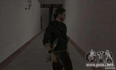 Sam Fisher para GTA San Andreas tercera pantalla