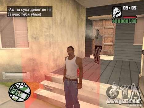 Comprar semillas para GTA San Andreas segunda pantalla