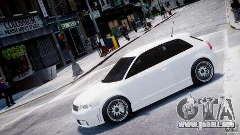 Audi A3 Tuning para GTA 4 left