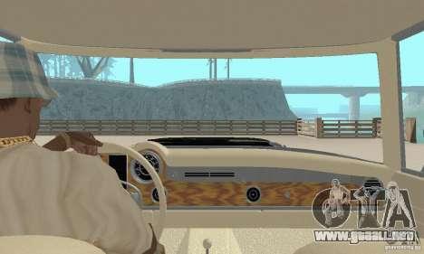Mercedes-Benz 280SL (brillante) para visión interna GTA San Andreas