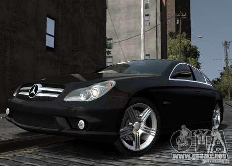 Mercedes-Benz CLS 63 AMG para GTA 4 visión correcta