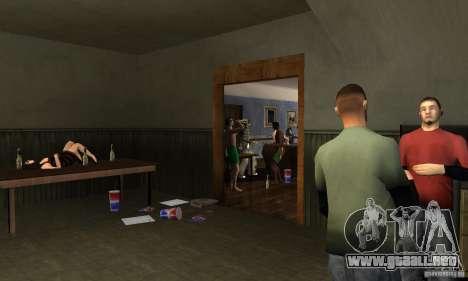 Proyecto x en la construcción de CJ para GTA San Andreas segunda pantalla