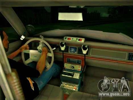 Ford Crown Victoria LTD 1991 HILL-VALLEY Police para la visión correcta GTA San Andreas