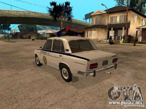 Policía VAZ 2103 para GTA San Andreas left