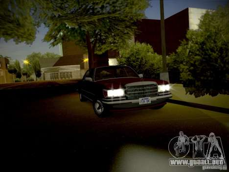 IG ENBSeries for low PC para GTA San Andreas sucesivamente de pantalla