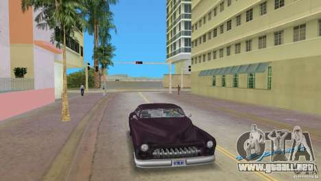 Hermes HD para GTA Vice City vista lateral izquierdo
