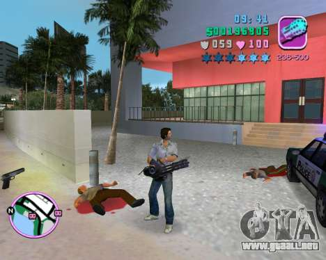 Camisa gris para GTA Vice City sexta pantalla