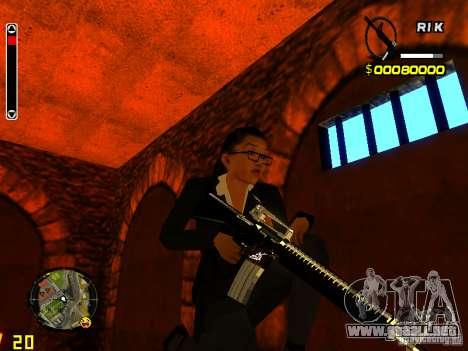 Next weapon pack para GTA San Andreas tercera pantalla